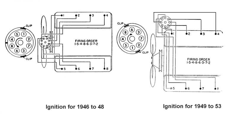 diagramas de encendido ford v8 pre y post 1949  129918