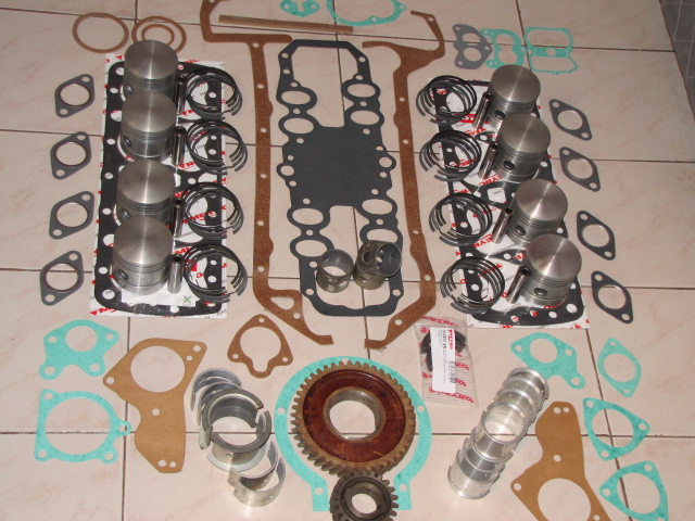 Kit de repuestos de motor ford v8 85 hp flathead.