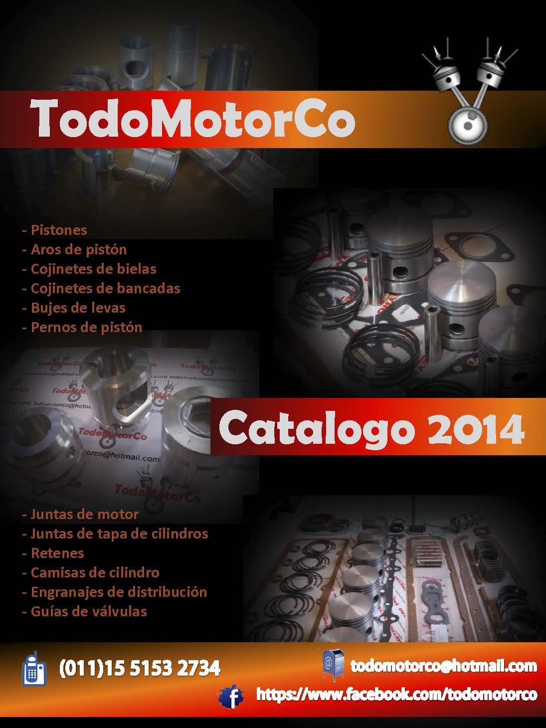 Solicitud catalogo de repuestos de motores antiguos