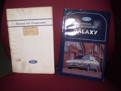 Part Ford Galaxy Manual