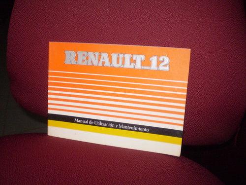 Part Manual Renault 12
