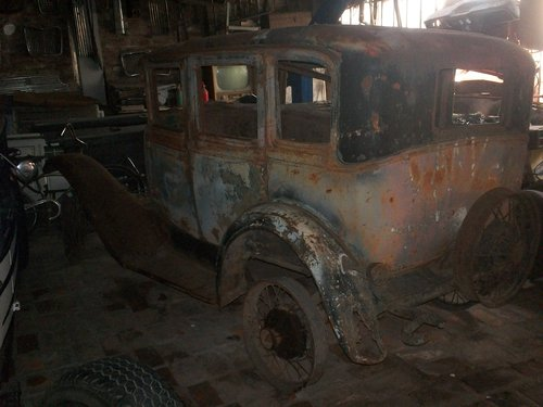 Part A 1930 Ford Chassis