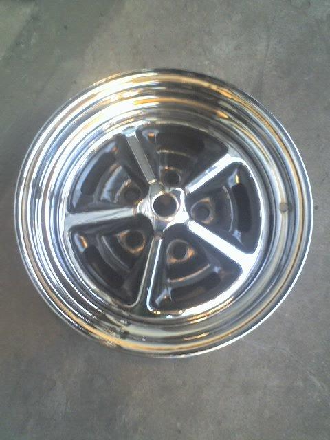 Repuesto Llantas Dodge GTX Tanque Nafta