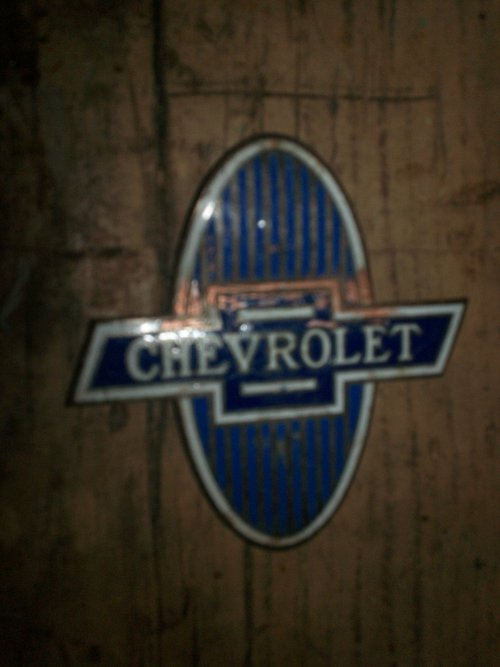 Part 1929 Chevrolet Badge