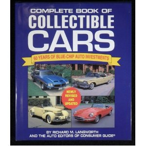 Repuesto Complete Book Of Collectibles Cars