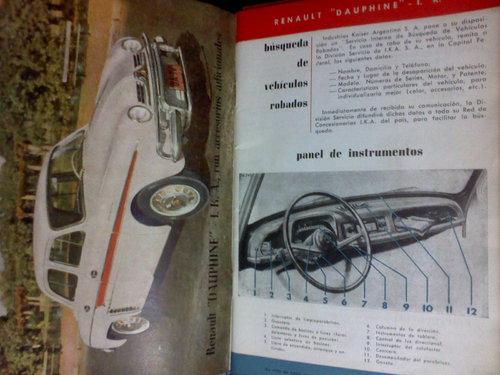 Repuesto Manual Reanault Dauphine
