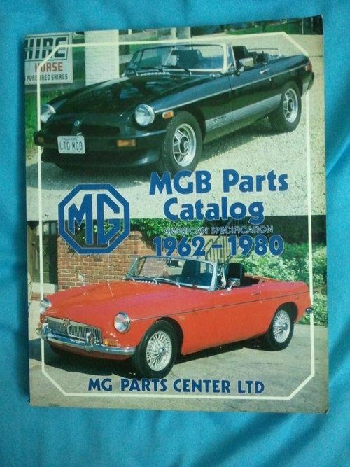 Repuesto MGB Parts Catalog