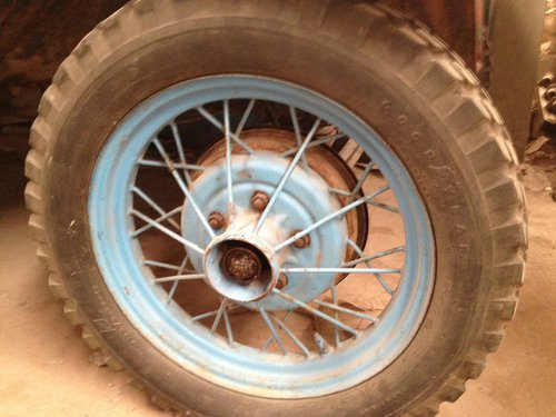 Part 1931 Ford Wheels
