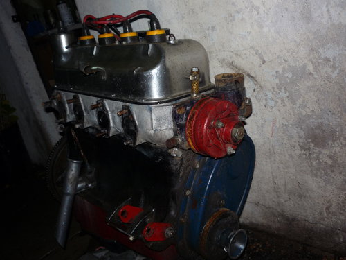 Part Motor Peugeot 403 Box And Differential