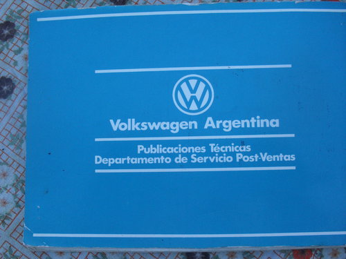 Repuesto Manual VW 1500