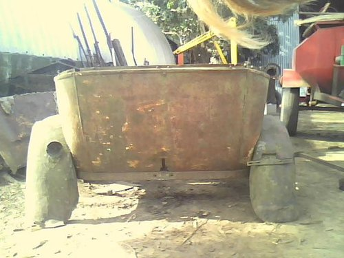 Part Ford Model A Tail