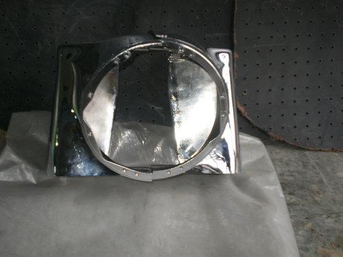 Part Headlight Custom Chrome