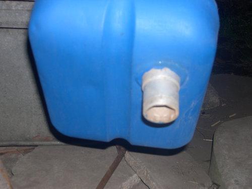 Part Fuel Tank Siambretta