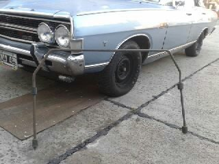 Part Sway Bar Ford Fairlane