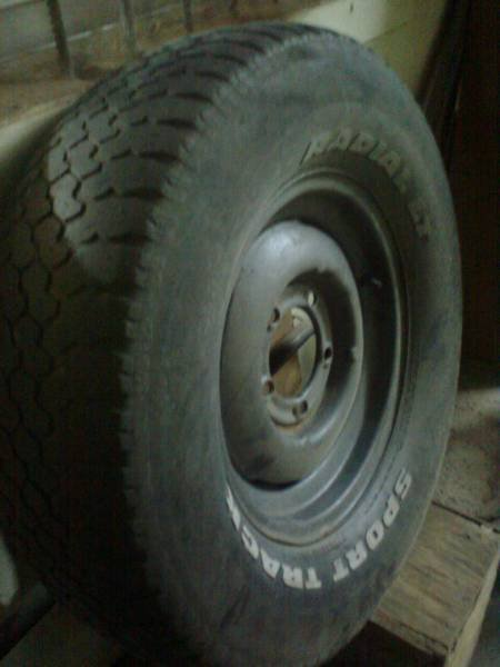 Part Wheels F 100 Armed