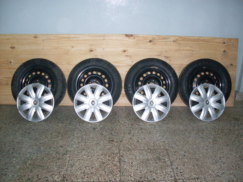 Part Covered Wheels