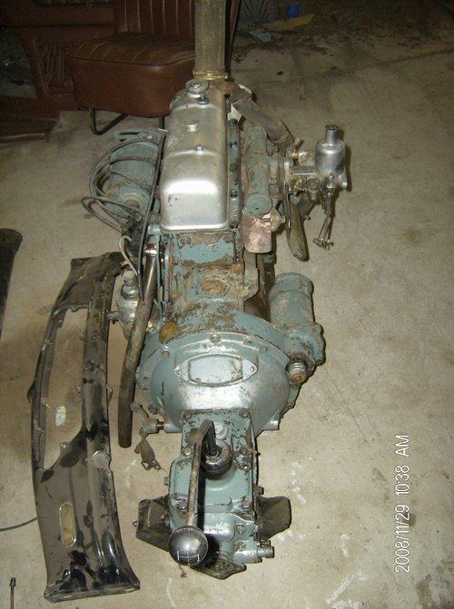 Part Morris Ten 1946 Several Engine