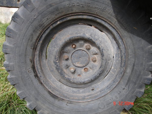 Part Tires Pick Up Chevrolet C10 1965
