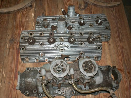 Part Flat Covers Ford Edelblock