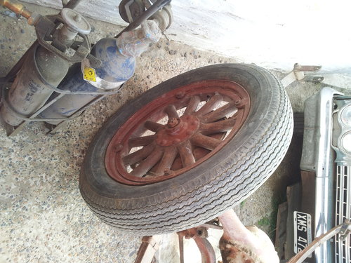 Part Differential Front End Wheels