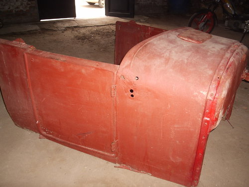Part Bodywork Ford Model T Chassis