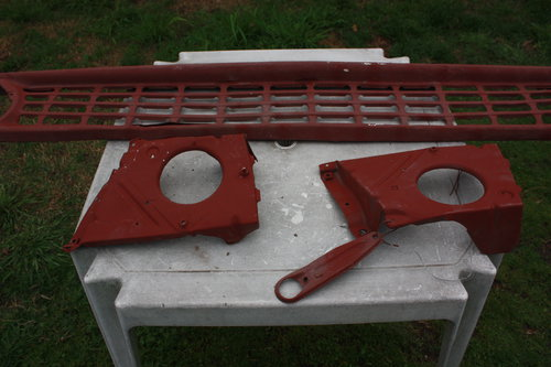 Part Grill Chevrolet 1964/66