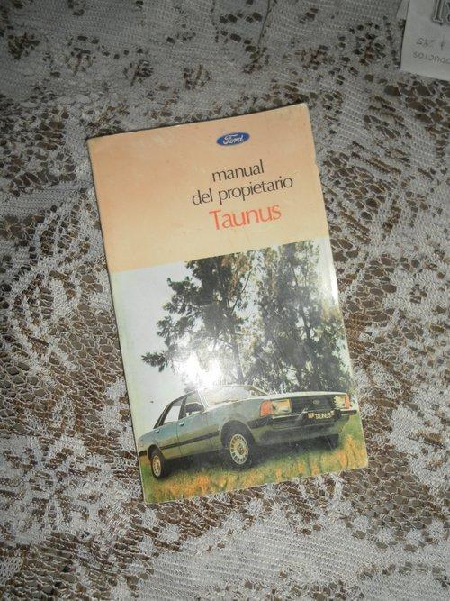 Repuesto Manual Ford Taunus