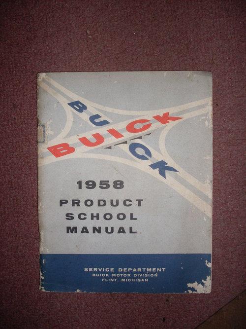 Repuesto Manual Buick 1958