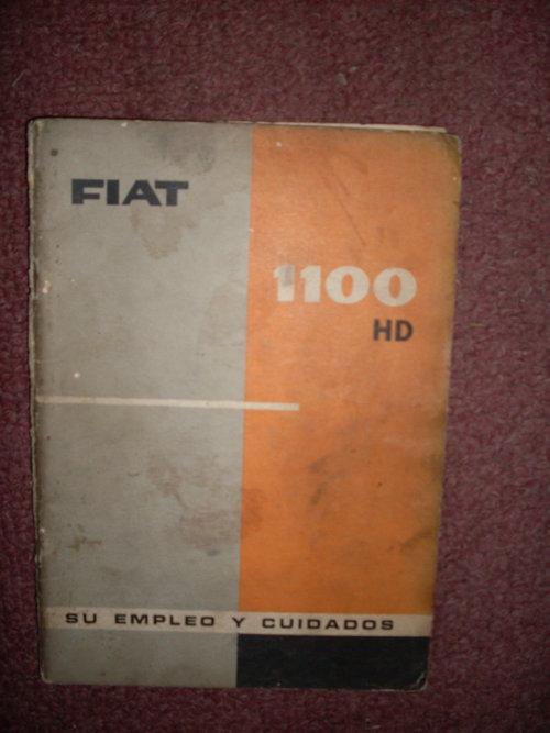 Repuesto Manual Fiat 1100