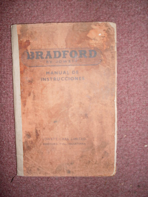 Repuesto Manual Bradford