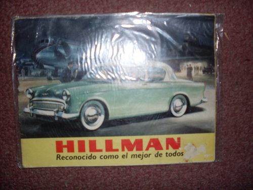 Part Manual Hillman