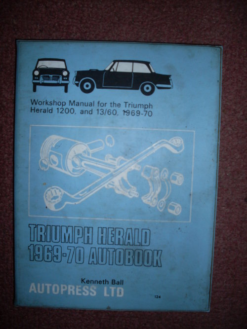 Repuesto Manual Triumph Herald