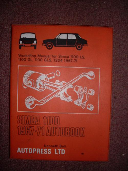 Part Manual Simca