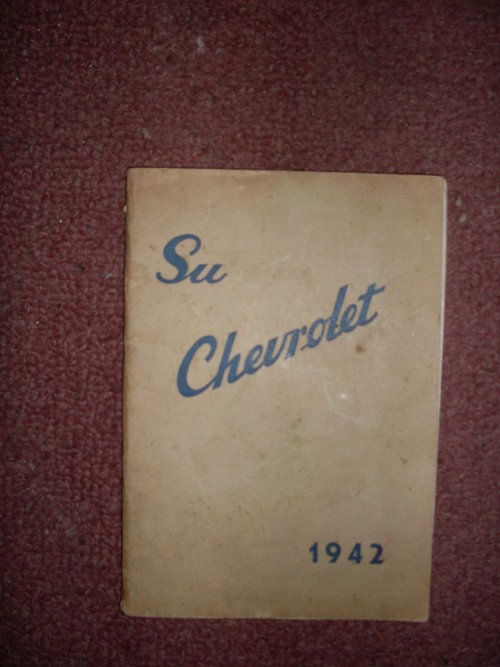 Repuesto Manual Chevrolet 1942
