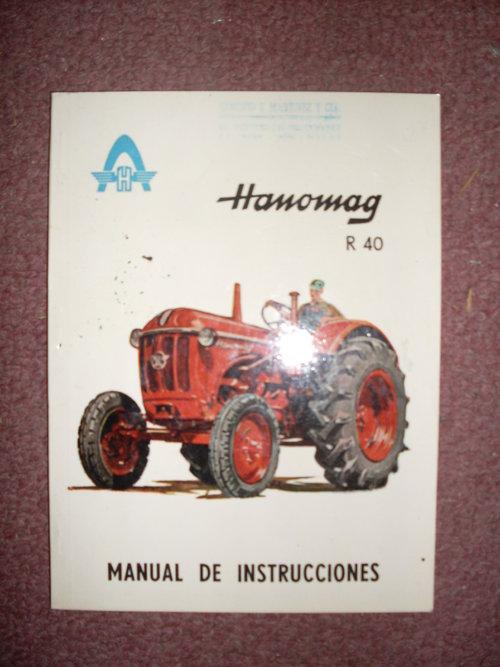 Part Manual Tractor Hanomag