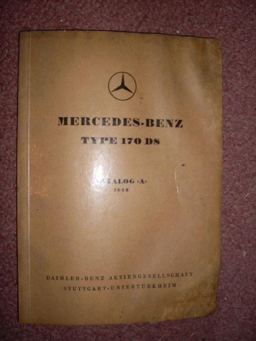 Part Manual Mercedes Benz 170ds