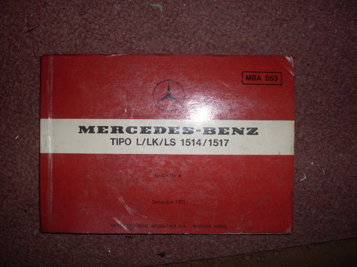 Part Manual Mercedes Benz