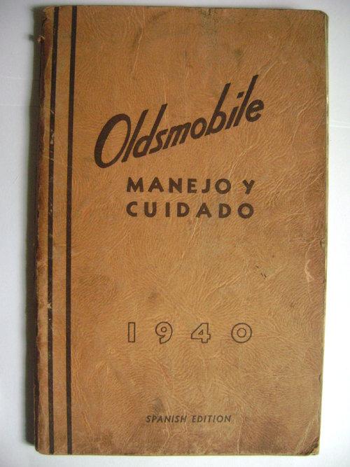 Repuesto Manual Oldsmobile 1940