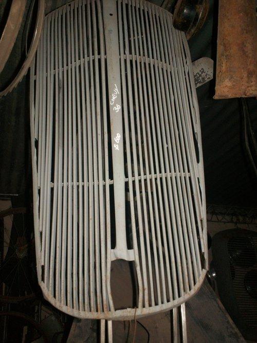 Repuesto Parrilla Chevrolet 36