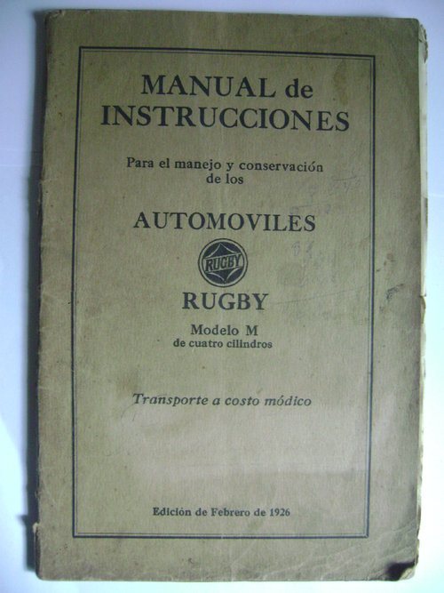 Part Manual Rugby