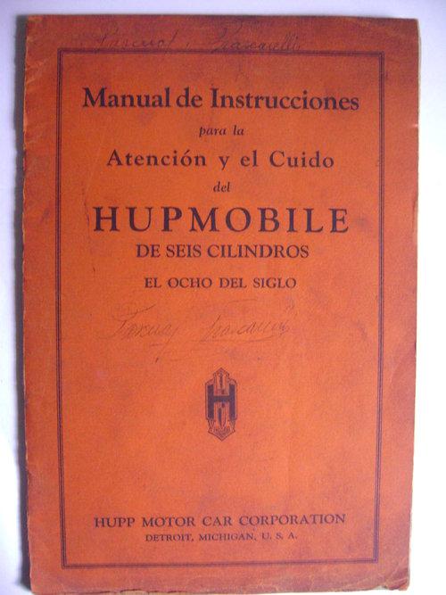 Part Manual 6 Hupmobile