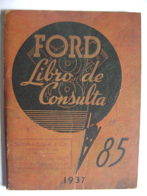 Part Manual Ford 1937