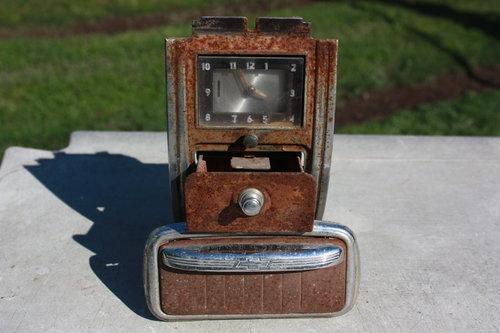 Part Ashtray Clock