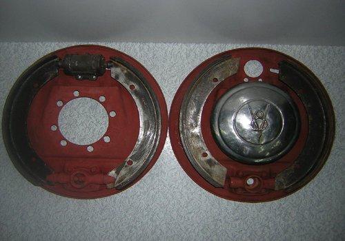 Part Plate Brake Ford V 8