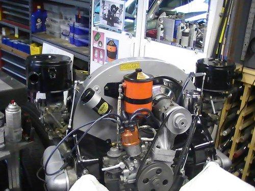 Repuesto Motor Porsche 356