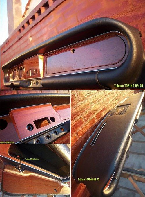 Repuesto Tablero Torino Coupé 380 380W Restauración Propia