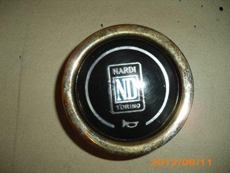 Part Center Steering Wheel Alfa Romeo Nardi