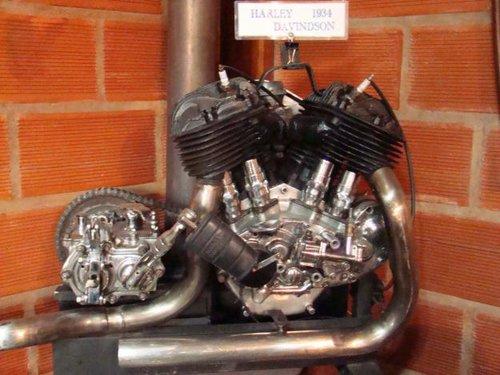 Part Motor Box Harley Davidson 1200