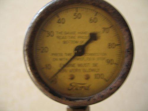 Repuesto Manómetro Antiguo Ford T 1927