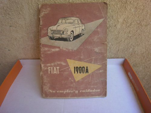 Part Manual Fiat 1900 To